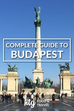 Everything you need to know, see, visit, eat & drink on a trip to Budapest, Hungary based on our own knowledge and experience.