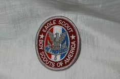 Eagle Scout Rank Patch Badge Oval Rank Patch, Type BSA Official Boy Scout of  America #eaglescout #eagle #BSA #boyscouts #scoutcollectables