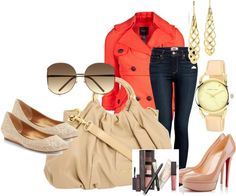 """""""Just Peachy"""" by julie-chadwick on Polyvore"""
