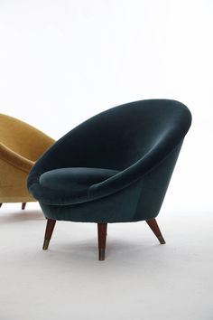 Norwegian Egg Chairs, 1950s, Set of 2 4