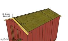 This step by step diy project is about cheap shed plans. This compact shed is a relatively roomy storage shed and it is optimized for you to build it fast and on a budget. 8x12 Shed Plans, Shed House Plans, Free Shed Plans, Shed Building Plans, Diy Storage Shed Plans, Diy Shed, Shed Frame, Pergola Garden, Backyard