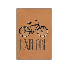 Explore Retro Bicycle Canvas Wall Art Print - Stretched Canvas (130 CAD) ❤ liked on Polyvore featuring home, home decor, wall art, stretched canvas, retro home decor, bicycle home decor, bike home decor and retro wall art