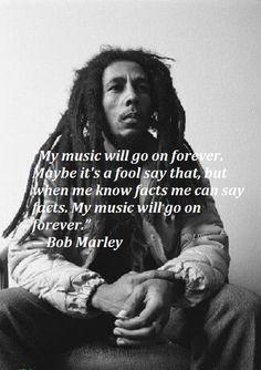 And Bob Marley too...