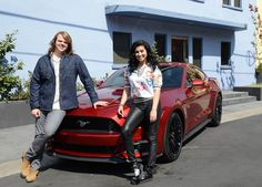 The moment when Caleb and Jena were gifted brand new Ford Mustangs and then had the opportunity to gift brand new cars to their respective musical mentors, also compliments of Ford.