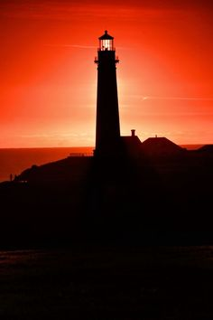 Sunset on Pigeon Point Lighthouse California
