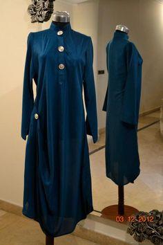 blue long shirts wid buttons