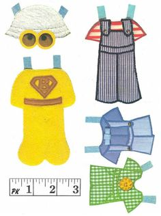Bears paper dolls 84 / Bears / Kids printables coloring pages