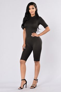 Waylay Jumpsuit - Black