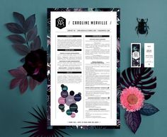 Compact, clean resume design that stands out ... For more resume inspirations click here: https://www.pinterest.com/sheppardaaron/-design-resumes/ Creative Resume Design, Resume Style, Resume Design, Curriculum Vitae, CV, Resume Template, Resumes, Resume Format.. If you like UX, design, or design thinking, check out theuxblog.com