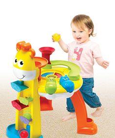 Look at this #zulilyfind! Giraffe Fun Station by B Kids #zulilyfinds