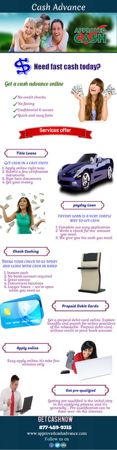 Get Instant Online Approval For Payday Loans
