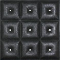 Decorative Ceiling Tiles, Inc. Store - Diamonds in The Sky - Faux Leather Ceiling Tile - Faux Leather Walls, Leather Wall Panels, 3d Wall Panels, Diamonds In The Sky, Black Diamonds, Black Ceiling, Tile Installation, Ceiling Tiles, Sound Proofing