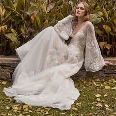 Fall 2018 Bridal Collection is on! Discover it @modaoperandi. Click link in bio and #preorder. #costarellos #modaoperandi #fall2018 #bridal #trunkshow #weddingdress #bride