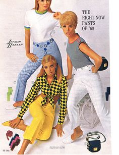The Right-Now Pants of '68, Sears