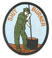 SHIT BURNER PATCH SHIT BURNER PATCH [H-FL1204] - $5.00 : Hat n Patch, Military Hats, Patches, Pins and more