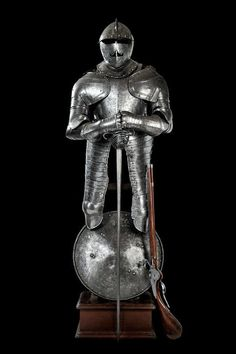 Set of arms for a heavy cuirassier, Europe, 17th century.