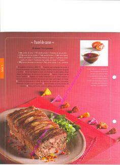 pastel de carne Beef, Food, Meatloaf, Pastries, Meat, Meals, Ox, Yemek, Eten