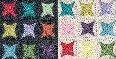 atty's: Nova Star Crochet Square Free Tutorial