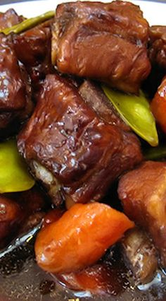 Sweet and Sour Spare Ribs.                                                                                                                                                                                 More