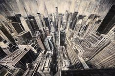 Italian artist Valerio D'Ospina has painted a series of dramatically stunning portraits.    http://hotpenguin.id.lv/dramatically-stunning-oil-paintings-of-urban-scenes/#