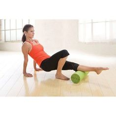 Gaiam Restore Muscle Therapy 18 Foam Roller, Green