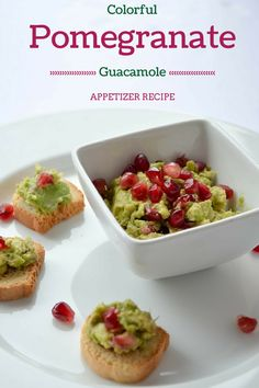 Looking for a colorful appetizer recipe to brighten up your dinner table? Our pomegranate guacamole isn't just delicious, it's beautiful too! Make it for your next party!