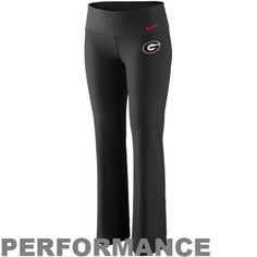 Nike+Georgia+Bulldogs+Women's+Logo+Performance+Pants+-+Black