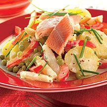 Weight Watchers - Aardappelsalade met gerookte forel – 10pt