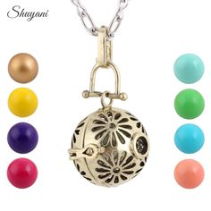 Find More Pendant Necklaces Information about 10pcs/lot Tibetan Silver Plated Cage Music Angel Ball Necklace Ball Metal Pregnancy Ball Pendants Baby Chime Necklace Women Gift,High Quality necklac,China necklace bass Suppliers, Cheap necklace chain for men from shuyani Official Store on Aliexpress.com
