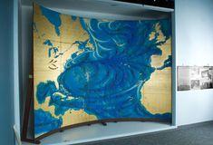 Mural Painting, The Currents at National Museum of American History Mural Painting, National Museum, American History, Ocean, Children, Water, Artwork, Water Water, Art Work