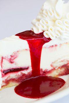 The Cheesecake Factory Lemon Raspberry Cream Cheesecake