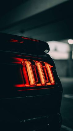 Mustang Lights IPhone Wallpaper - IPhone Wallpapers