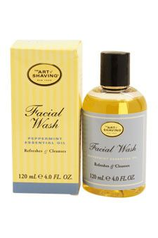 facial wash - peppermint by the art of shaving