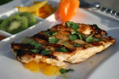 Grilled Chicken With Mango Habanero Glaze. Photo by **Tinkerbell**