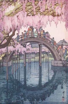 일본 화가 히로시 요시다의 목판화 작품 모음 : 네이버 블로그