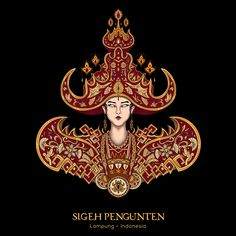 Careers Indonesian Art, Dream Tattoos, Glitch Art, Amai, Flat Illustration, Japan Art, Balinese, Art Logo, Dandy