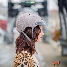 Sawako Ladies Bike Helmet - Sparkle Sawako Ladies Bike Helmet - Sparkle | Cyclechic<br> Cool Bike Helmets, Bicycle Helmet, Riding Helmets, Womens Bike Helmet, Bike Pump, Ladies Bike, Cycle Chic, Cool Bike Accessories, Bicycle Girl