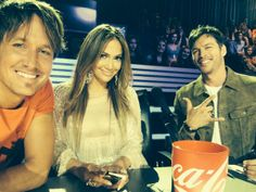 I love these beautiful people on American idol! Best judges yet:)
