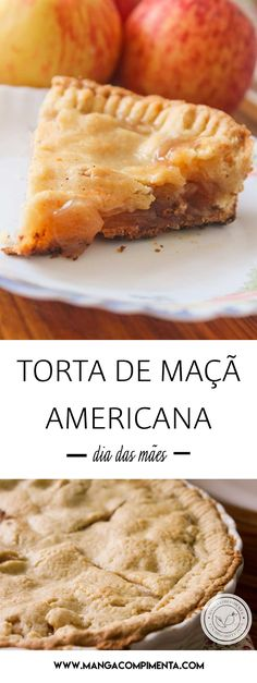 Apple Recipes, Sweet Recipes, American Apple Pie, Good Food, Yummy Food, Pastry And Bakery, Eat Dessert First, Caramel Apples, Mexican Food Recipes