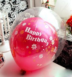 20 Pieces Double Layer Balloon Party Birtyday Wedding Decoration Accessories Home Decor 816006