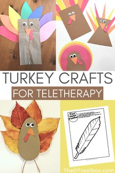 Occupational Therapy Activities, Motor Activities, Craft Activities, Activity Ideas, Thanksgiving Activities For Kids, Thanksgiving Crafts, Holiday Crafts, Kindness For Kids, Art For Kids