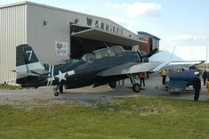 The Grumman TBM-3 Avenger was aptly named, playing a major part in the sinking of over 60 ships of the Imperial Japanese Navy after the Japanese attack on Pearl Harbor. http://www.tri-statewarbirdmuseum.org/aircraft.html