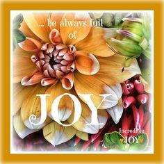Joy #quote via www.Facebook.com/IncredibleJoy