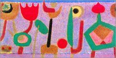 Paul Klee - Twilight flowers, 1940
