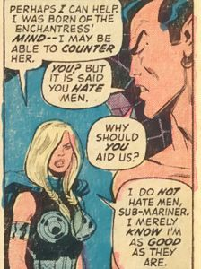 Brunhilde gives us feminism in a nutshell.
