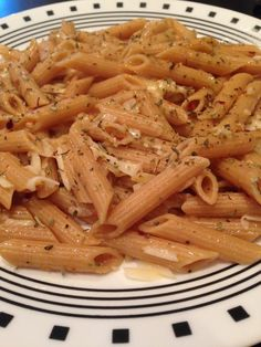 Penne with Garlic and Oil_Cookin' with Moxie