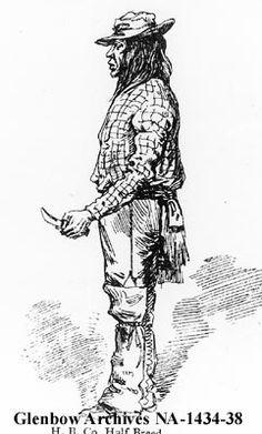 Hudson's Bay Company half-breed [Metis]. [ca. 1875] Date: [ca. 1875]