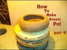 How to Make Clay Bonsai Pot At Home part- 2