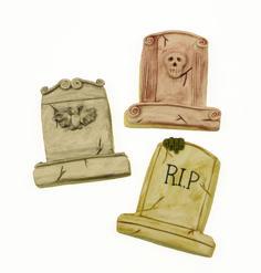 Spooky Tombstone Cookies
