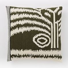 Chained Stitch Pillow Covers - Ivory